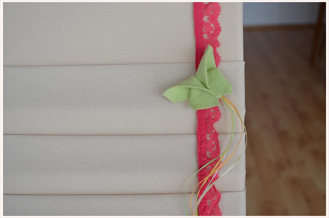 DIY-Cardboard aus Leinwand