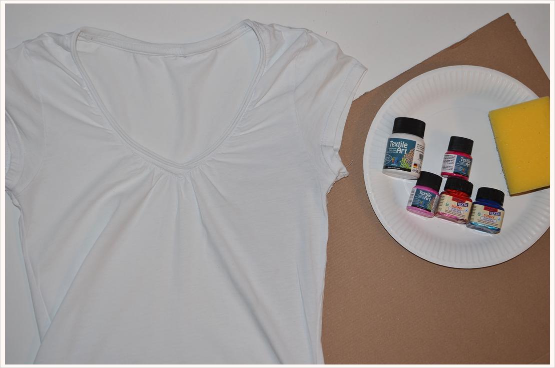 Werbung, die bewegt, und ihr Ergebnis: Galaxy-Shirt-DIY