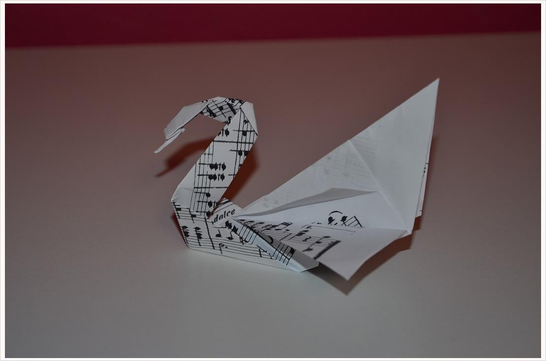 DekoDIY OrigamiSchwäne  Filizity  fashion · food · diy