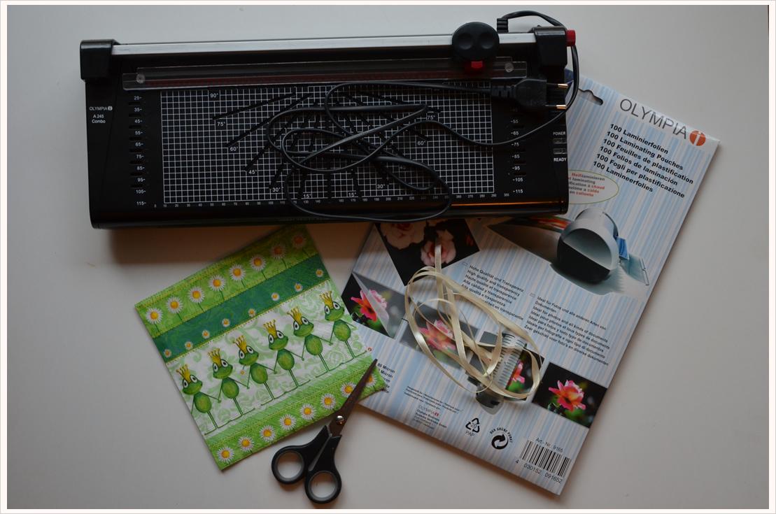 Deko-DIY: Windlichter aus Servietten
