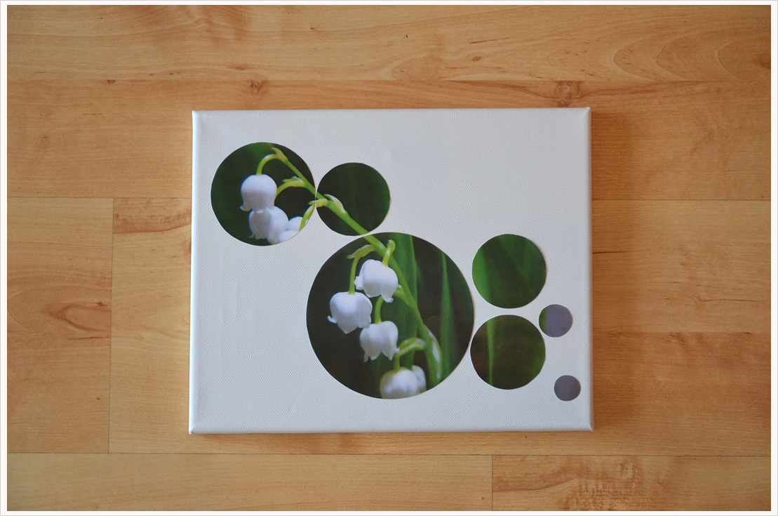 Deko-DIY: Foto-Mosaik als Wandbild