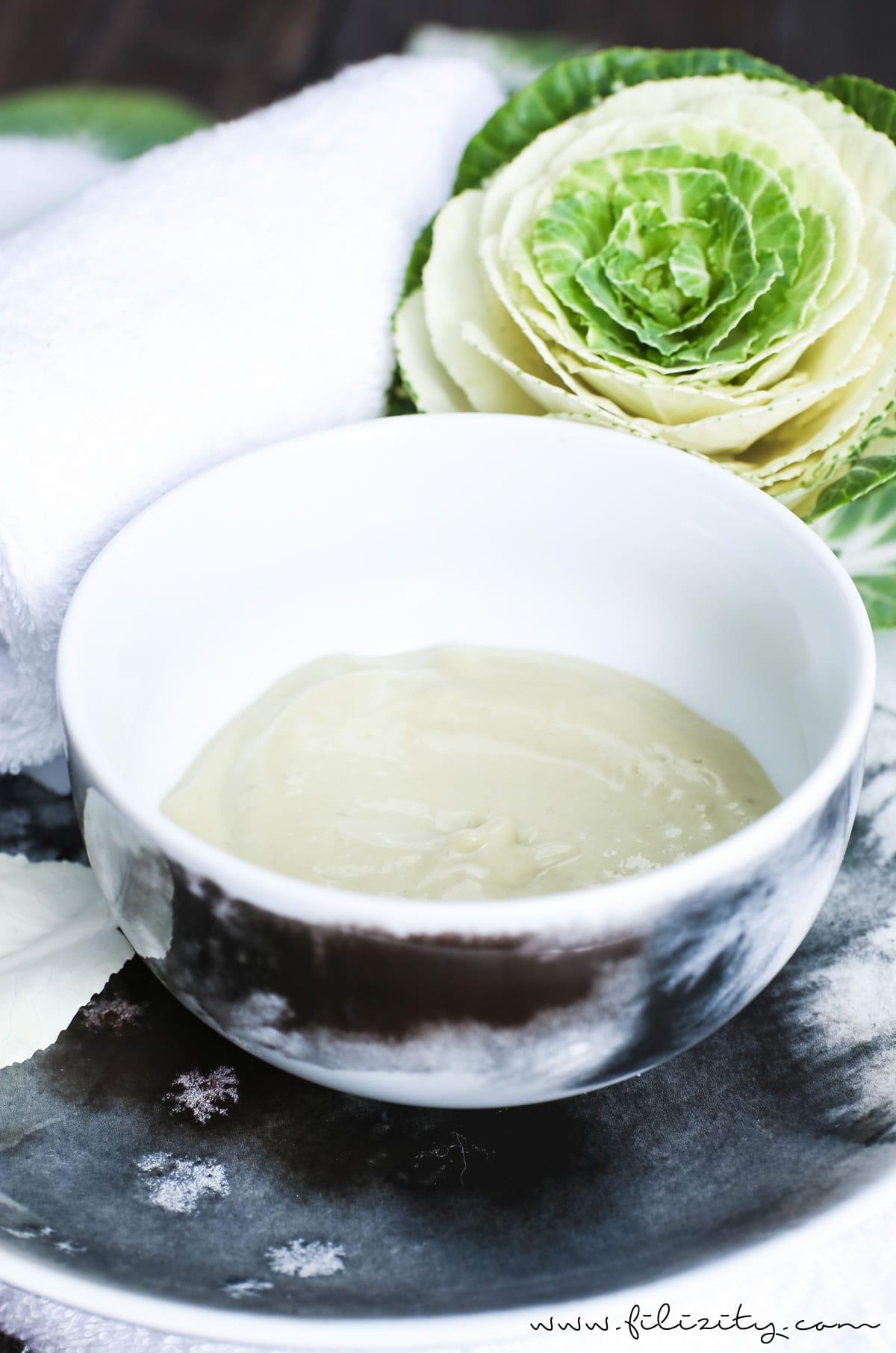 DIY-Beauty: Regenerierende Haarkur/Gesichtsmaske selber machen - Einfache Naturkosmetik | Filizity.com | Beauty-Blog aus dem Rheinland #naturkosmetik