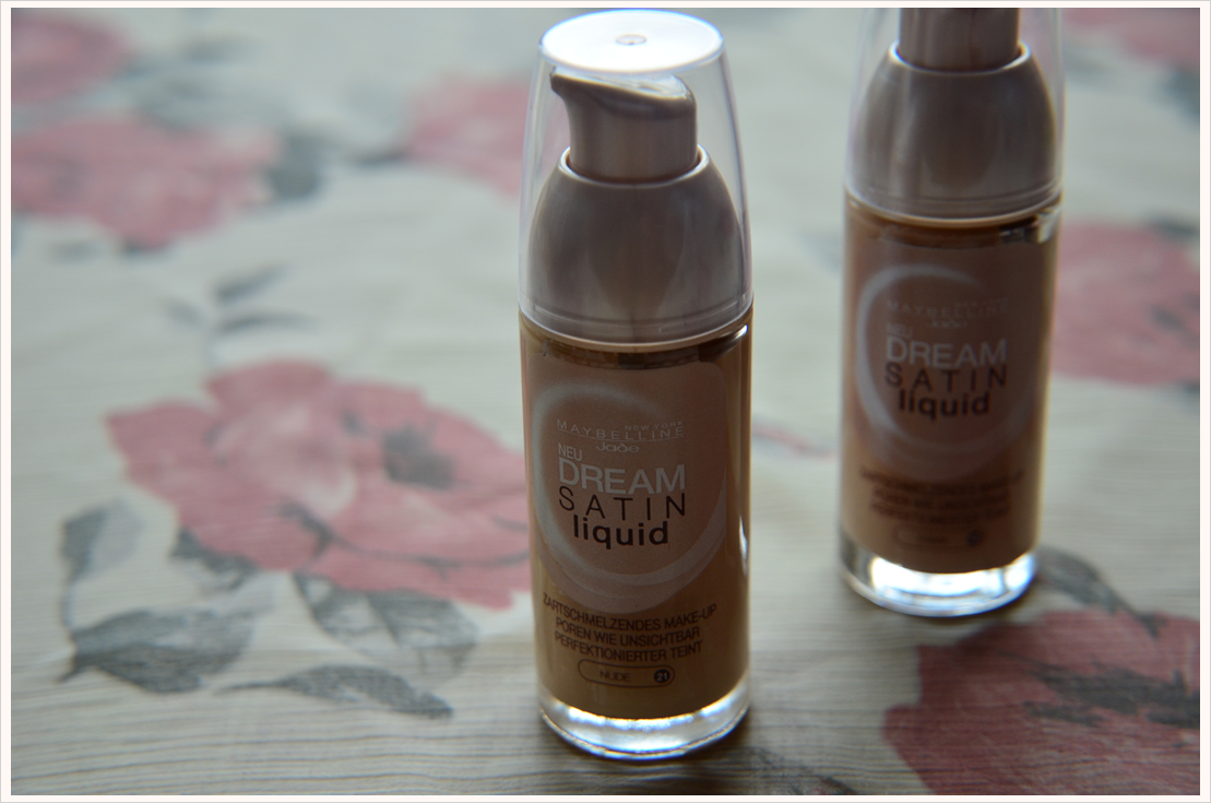 Beauty-Sonntag: Maybelline New York Satin Dream Liquid Foundation