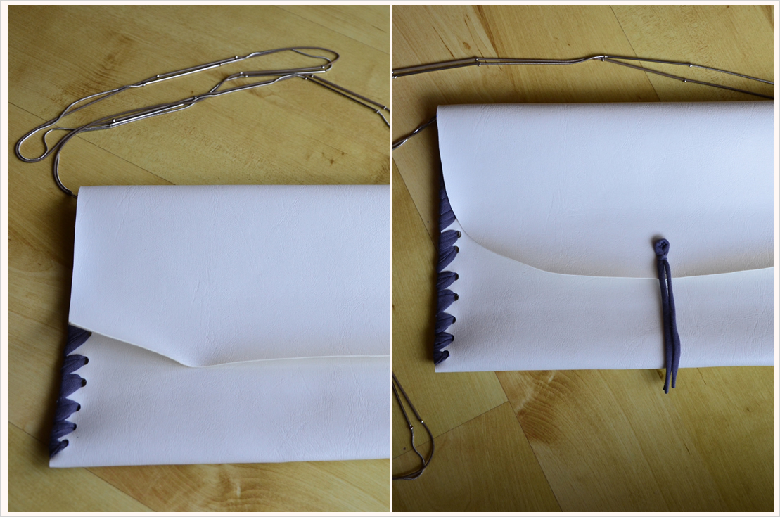 DIY-Dienstag: No-sew-Clutch