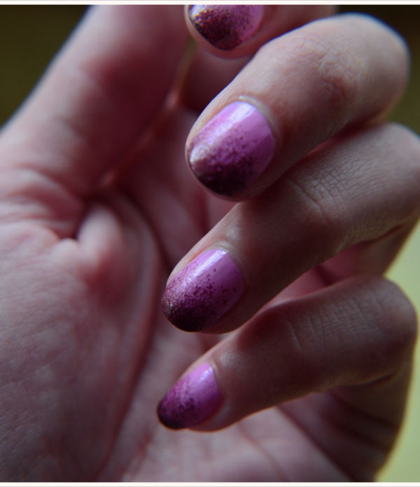 Beauty-Sonntag: Ombré-Fingernägel