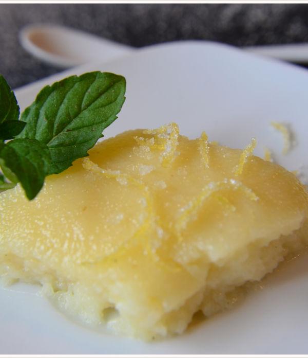 Mmmontags-Rezept: super leckeres Zitronen-Grieß-Dessert