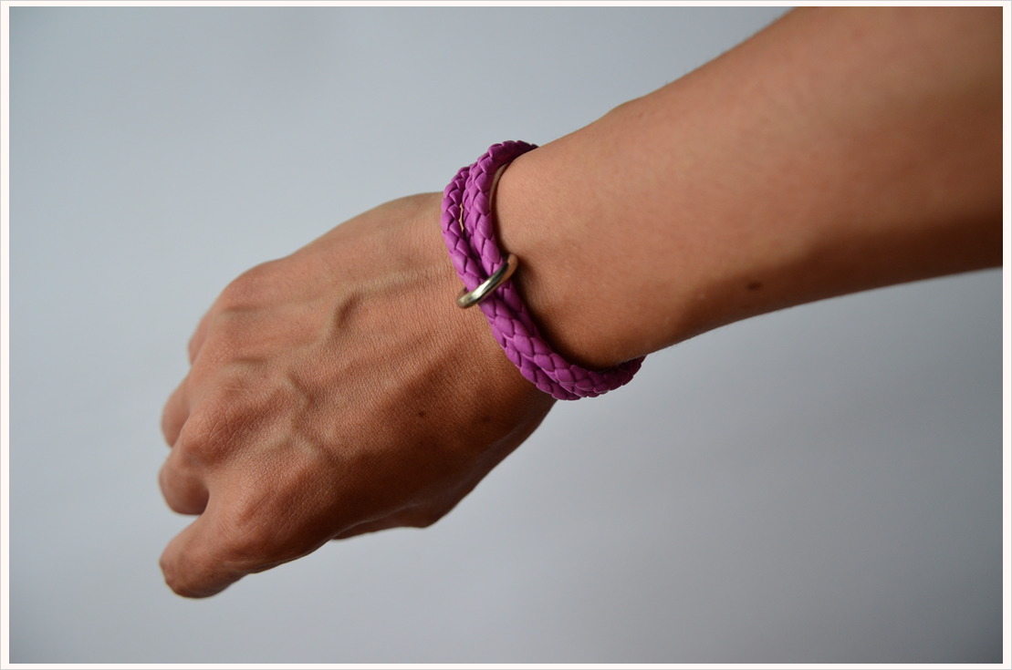 Basteln mit Leder Teil 1: Vielseitiges Armband mit Ring