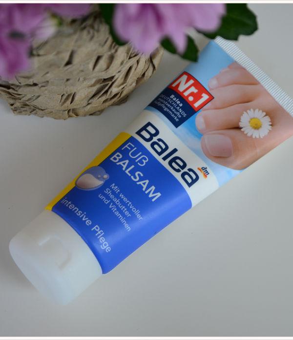 Beauty-Sonntag: Balea Fußbalsam mit Sheabutter und Vitaminen