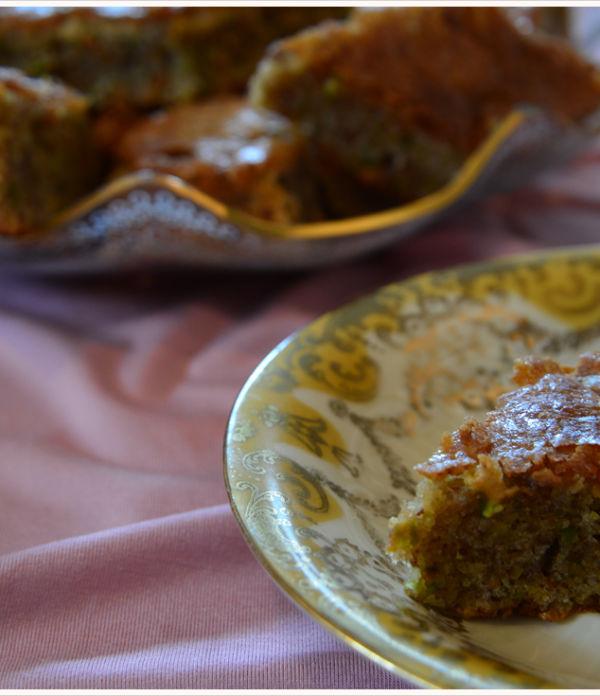 Mmmontags-Rezept: Orientalischer Nusskuchen