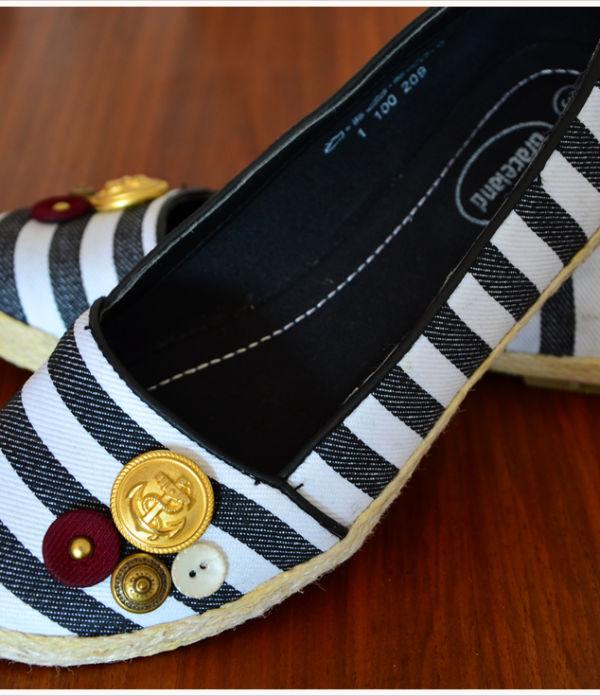 DIY-Dienstag: Sailor-Shoes