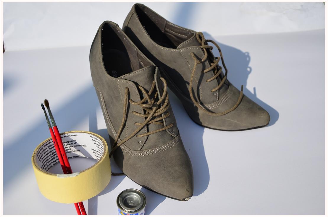DIY-Dienstag: Schuhe lackieren
