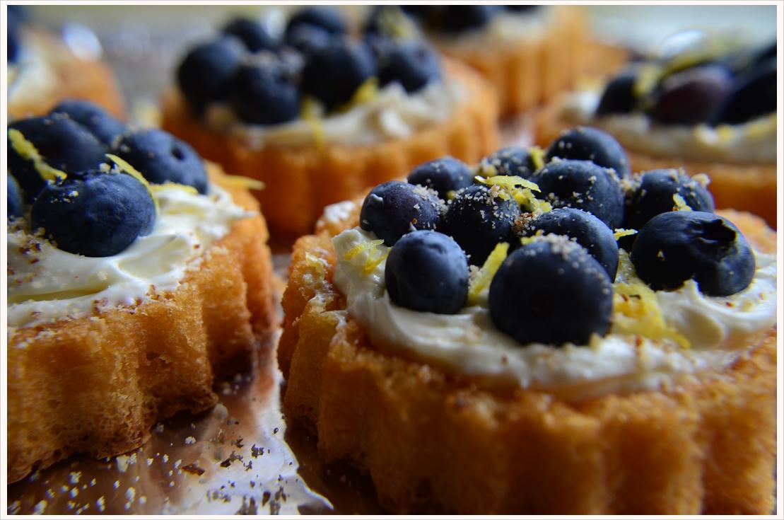 Mmmontags-Rezept: Schnelle Blaubeertörtchen