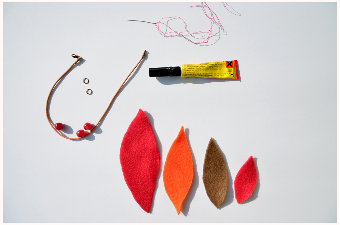 DIY-Dienstag: Herbstkette aus Filz