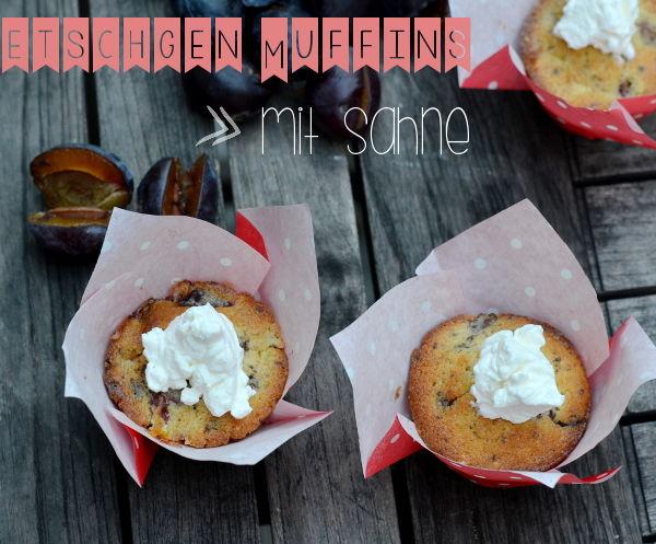 Heute kommt das Mmmontags-Rezept von Bonny: Zwetschgen-Muffins