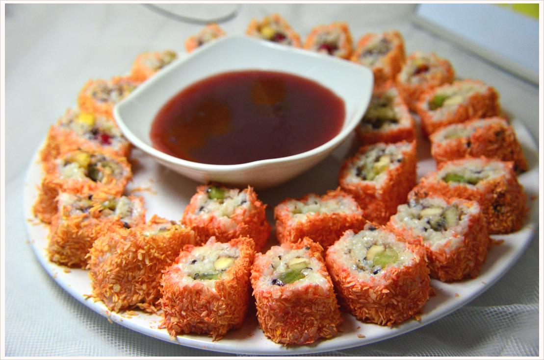 Mmmontags-Rezept: Sushi für Süße