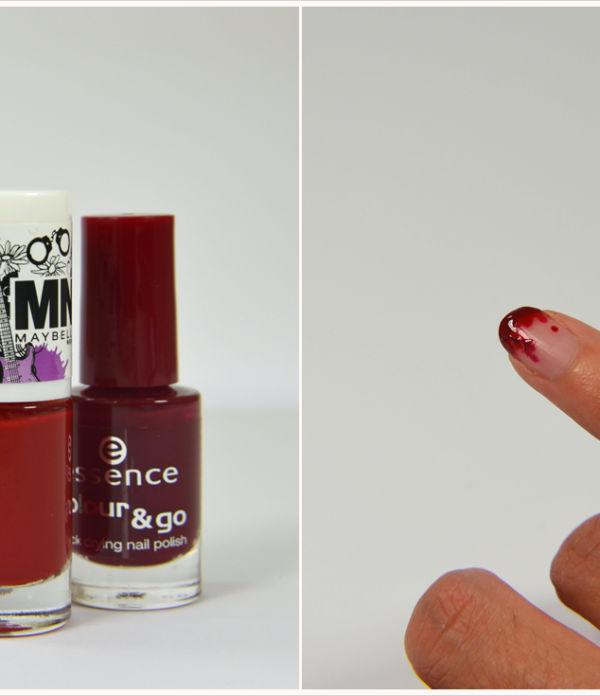 Schaurig schöne Fingernägel