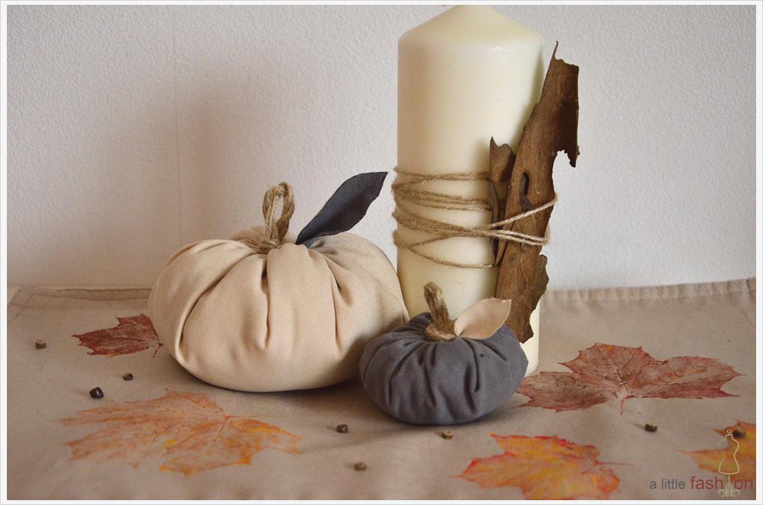 DIY-Dienstag: Der Herbst in seinen schönsten Farben  – Blätter-Deckchen
