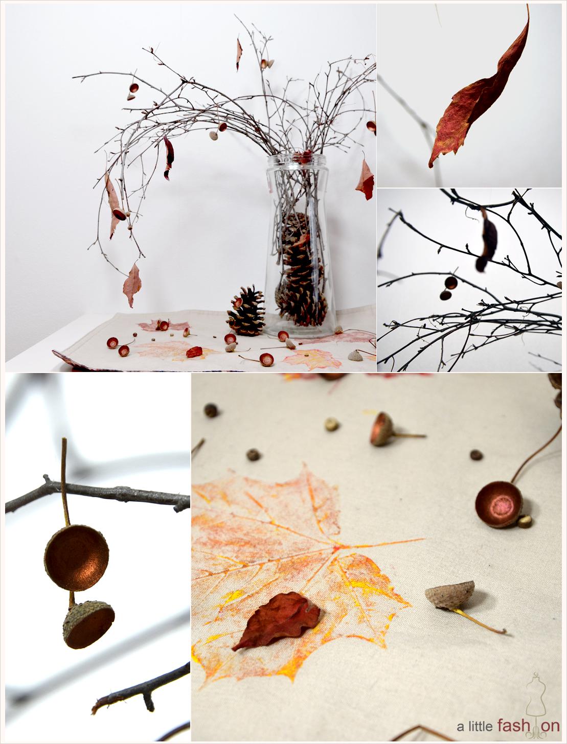 DIY-Dienstag: Der Herbst in seinen schönsten Farben  - Rot + Kupfer