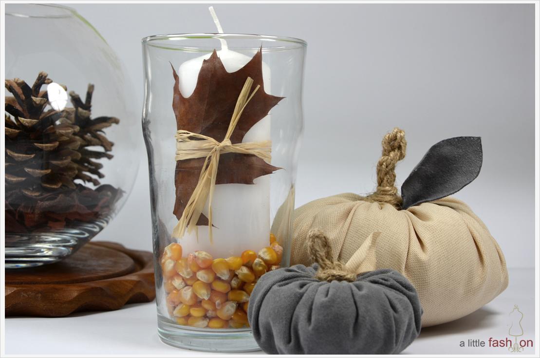DIY-Dienstag: Herbstdeko aus gesammelten Körnern, Nüssen & Co.