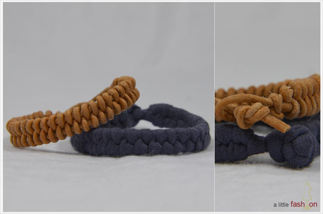 DIY-Dienstag: Easy peasy Fischgrät-Armbänder