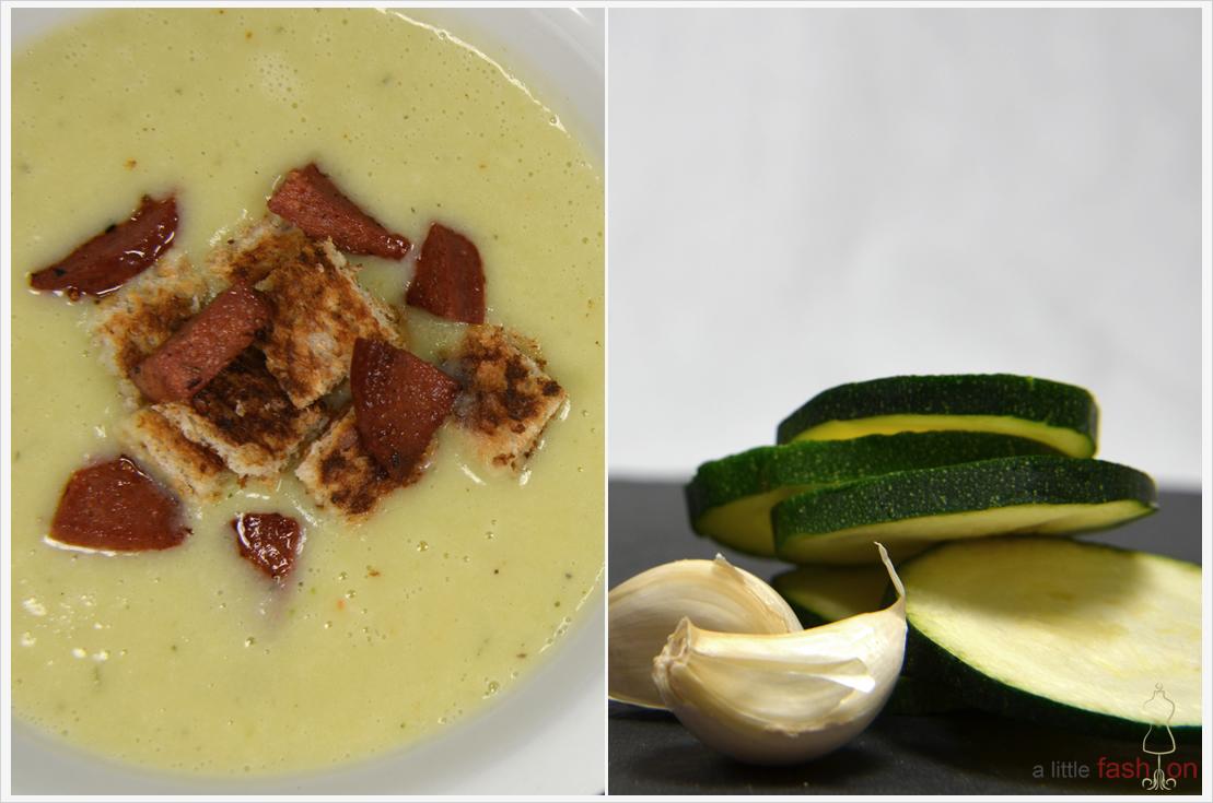 Zucchini-Creme-Suppe