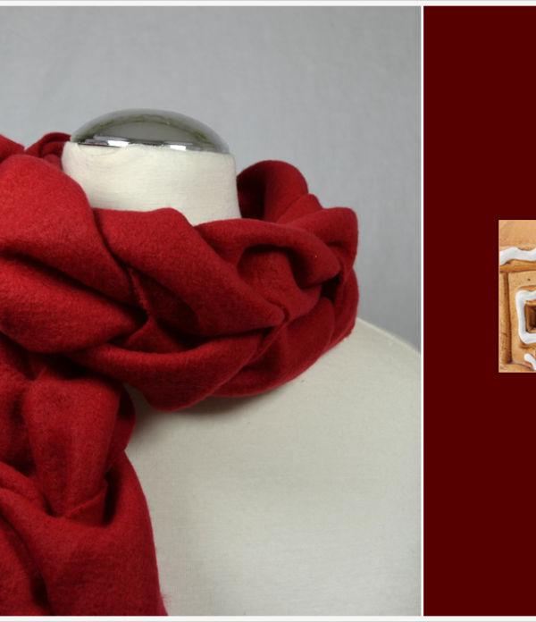 Der a-little-fashion-Adventskalender: 04. Dezember  – Kuschelschal aus Fleece