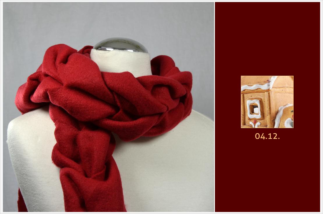 Der a-little-fashion-Adventskalender: 04. Dezember - Kuschelschal aus Fleece