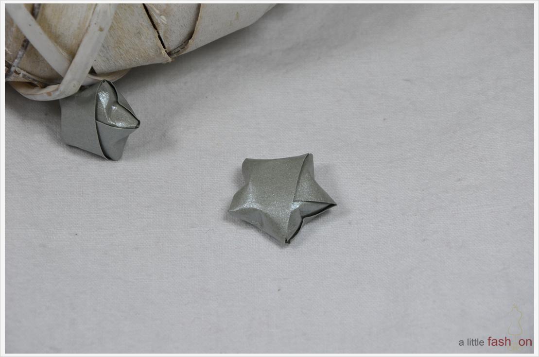 Der a-little-fashion-Adventskalender: 07. Dezember  - Origami-Sterne