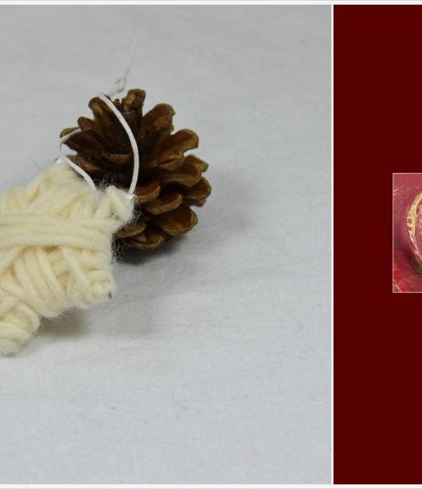 Der a-little-fashion-Adventskalender: 09. Dezember  – Baumschmuck mit Wolle