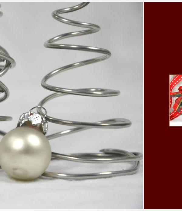 Der a-little-fashion-Adventskalender: 10 Dezember  – Tannenbäume aus Draht