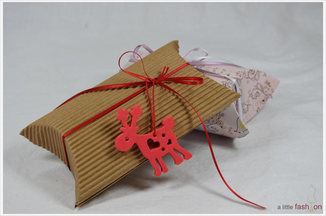 Der a-little-fashion-Adventskalender: 11 Dezember  - Schöne DIY-Geschenkschachtel