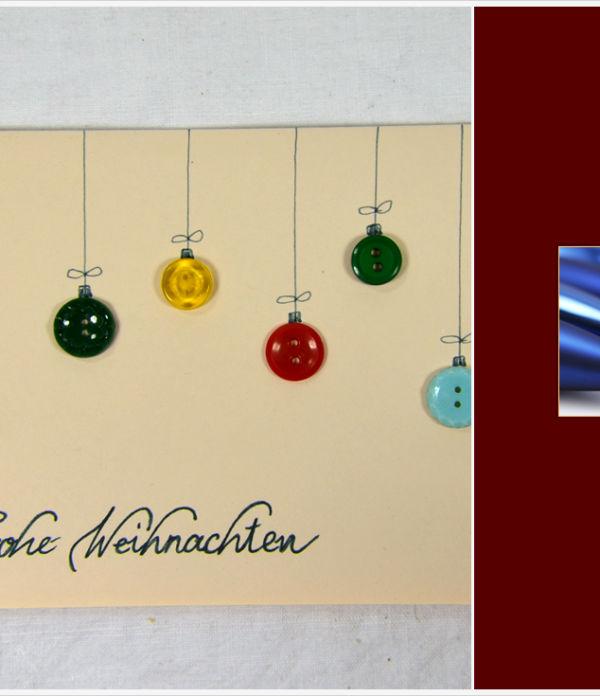 Der a-little-fashion-Adventskalender: 13. Dezember  – Zauberhafte Weihnachtskarten