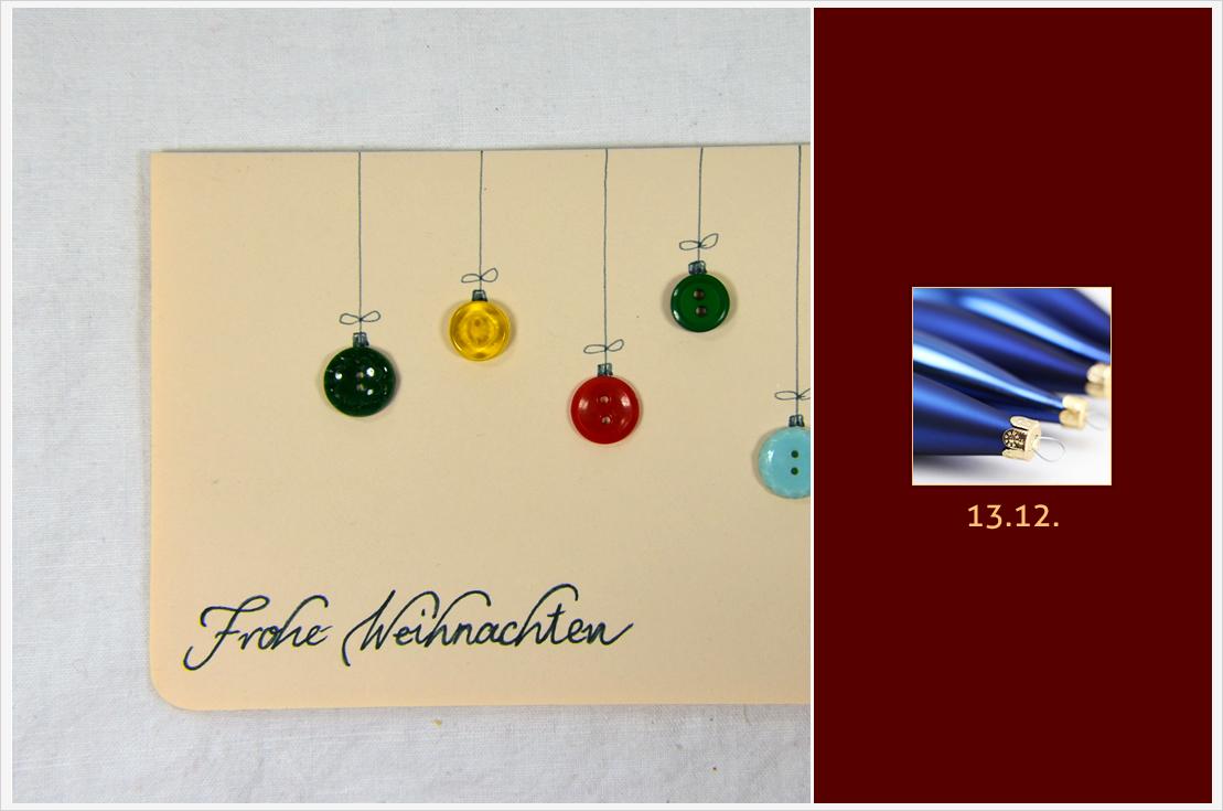 Der a-little-fashion-Adventskalender: 13. Dezember - Zauberhafte Weihnachtskarten