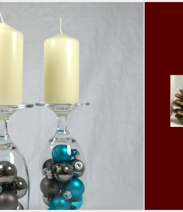 Der a-little-fashion-Adventskalender: 17. Dezember  – weihnachtliche Kerzenständer