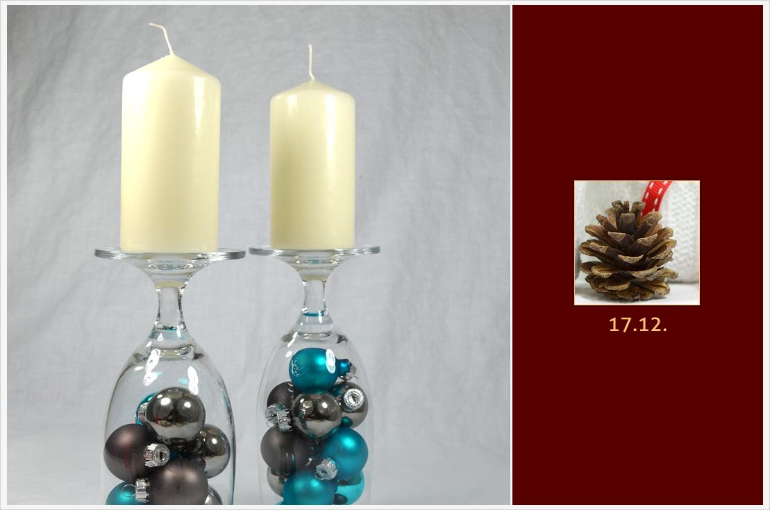Der a-little-fashion-Adventskalender: 17. Dezember - weihnachtliche Kerzenständer