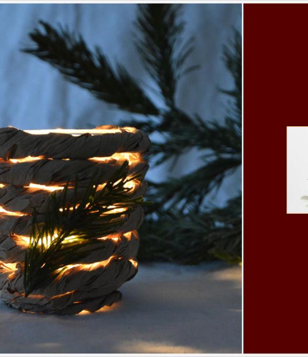 Der a-little-fashion-Adventskalender: 20. Dezember  – ländlich romantische Kerzengläser