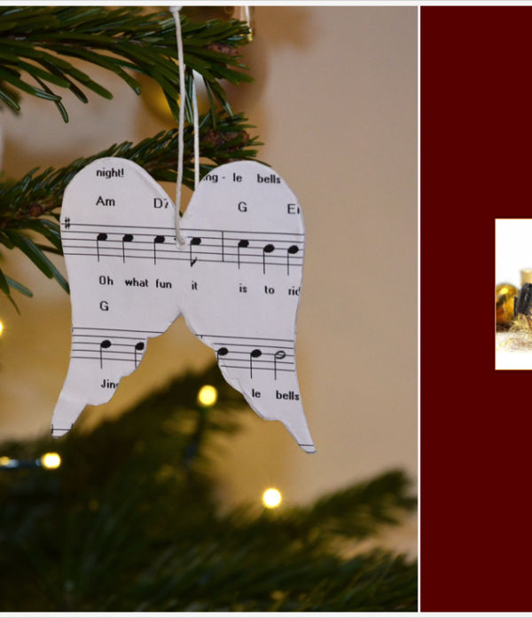 Der a-little-fashion-Adventskalender: 21. Dezember  – Baumanhänger aus Pappmaché