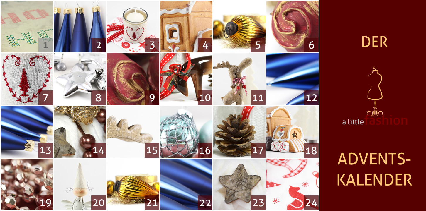 Der a-little-fashion-Adventskalender: 01. Dezember - Kreuzstichbild