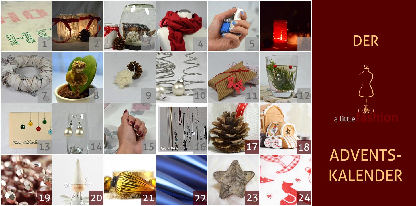 Der a-little-fashion-Adventskalender: 16 Dezember  - DIY-Kettendisplay als zauberhafte Geschenkidee