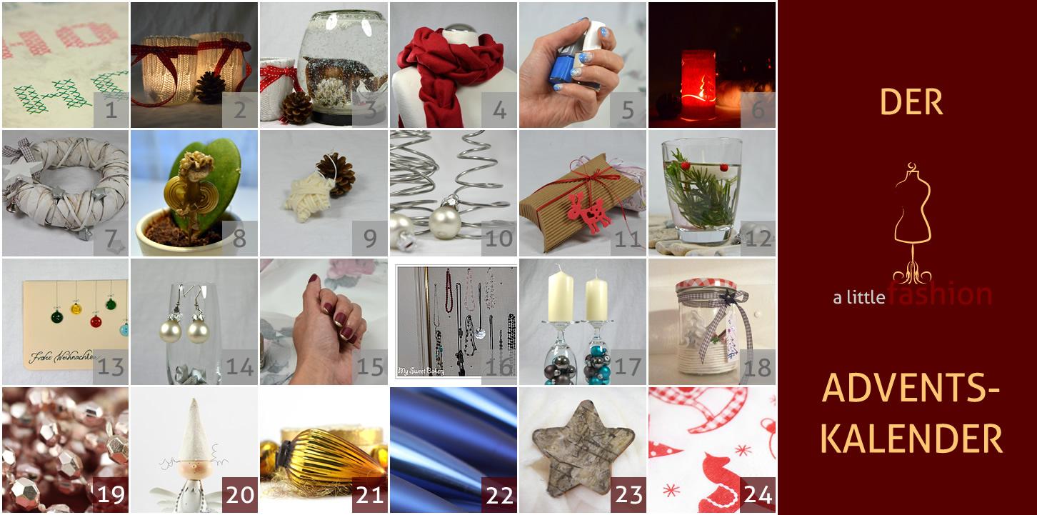 Der a-little-fashion-Adventskalender: 18. Dezember  - Süße Verpackungsidee für Geldgeschenke