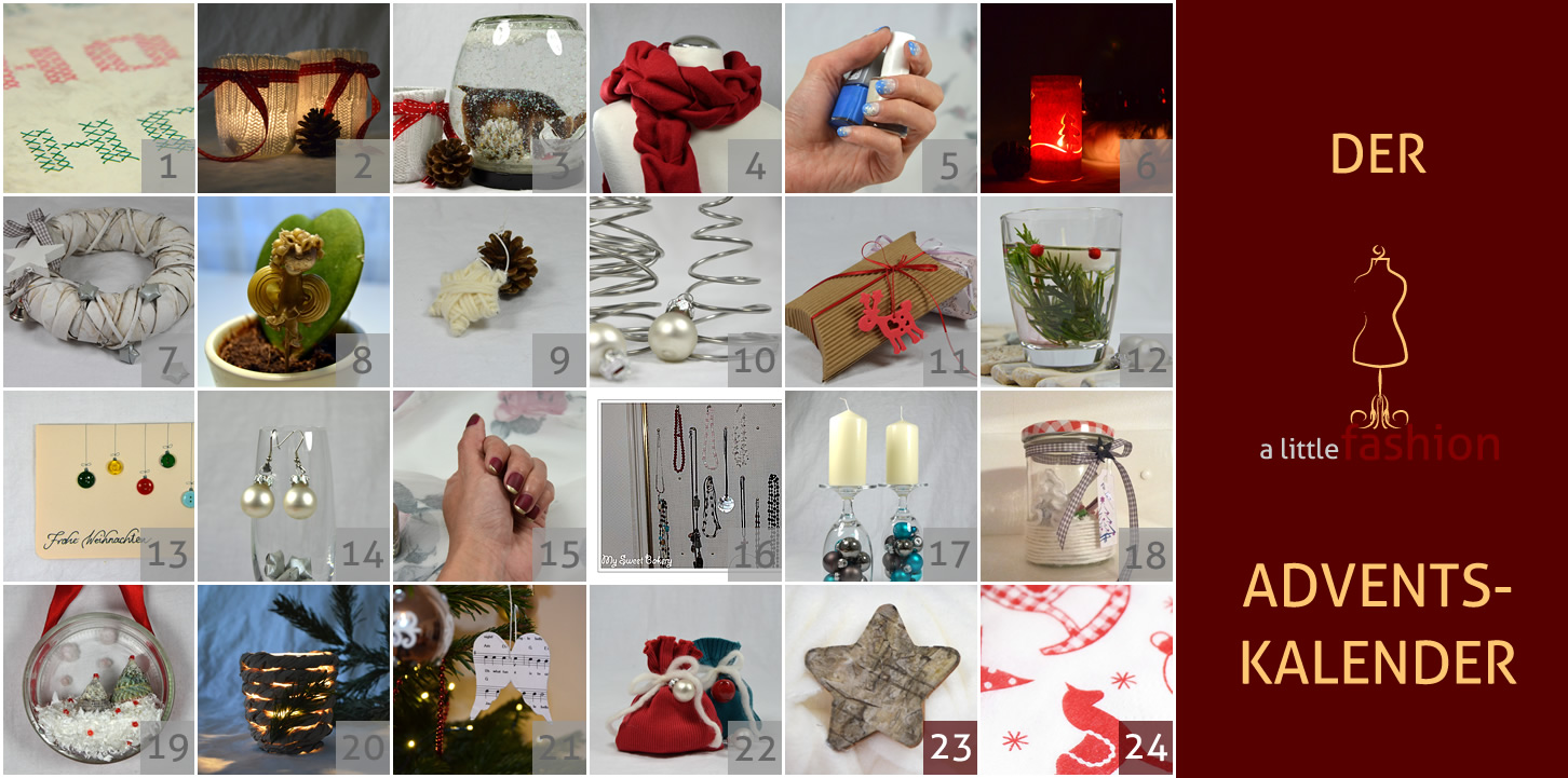 Der a-little-fashion-Adventskalender: 22. Dezember  - DIY-Geschenkverpackung