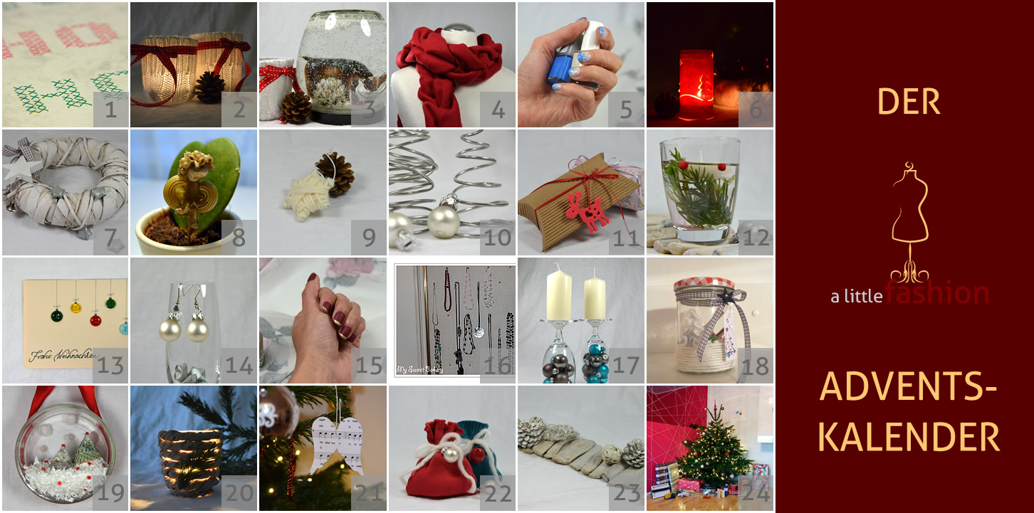 Der a-little-fashion-Adventskalender: 24. Dezember  - Frohe Weihnachten!!!