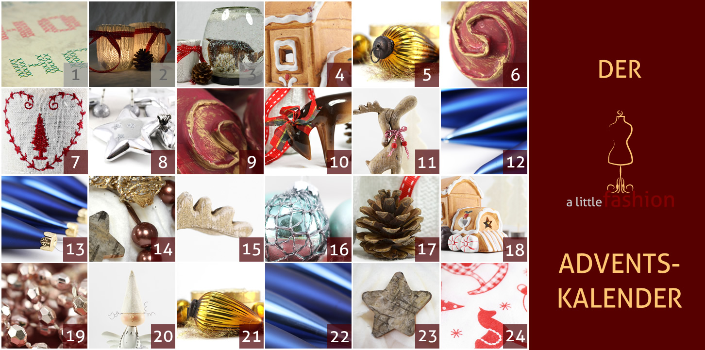 Der a-little-fashion-Adventskalender: 03. Dezember  - Riesen-Schneekugel