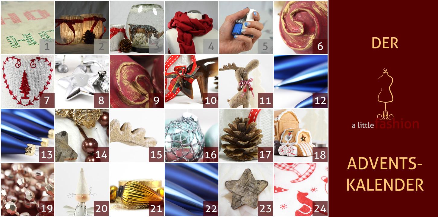 Der a-little-fashion-Adventskalender: 05. Dezember  - Schneegestöber für die Nägel