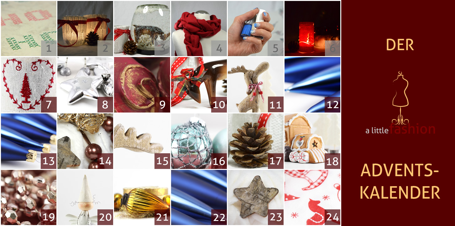 Der a-little-fashion-Adventskalender: 06. Dezember  - Paper Lighting