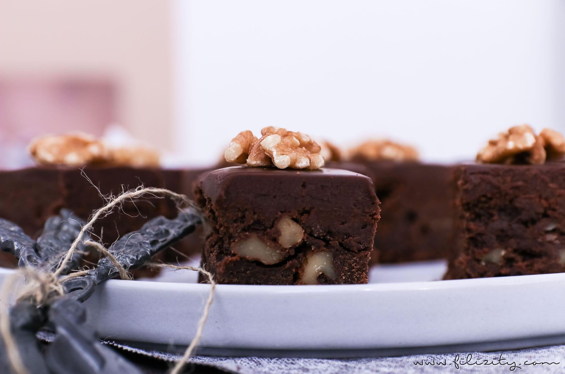 Brownies Rezept: Death by Chocolate! Die wohl schokoladigsten Brownies der Welt | Filizity.com | Food-Blog aus dem Rheinland #deathbychocolate #schokolade #kuchen #brownies