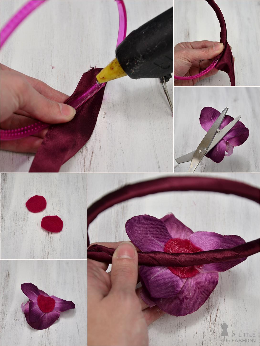 Radiant Orchid und ein Fashion-DIY