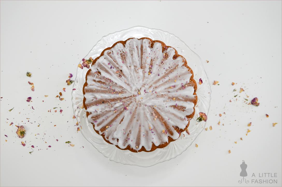 Rezept: Nuss-Rosen-Kuchen