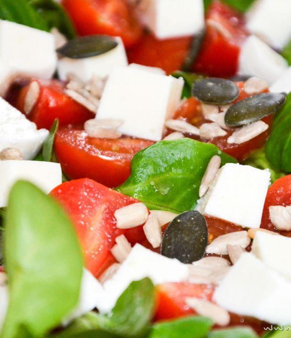 Italienischer Sommer-Salat  – ein mediterraner Hochgenuss