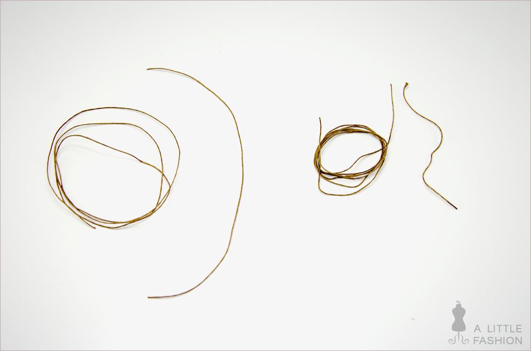 Orientalische Halskette mit Türkisen